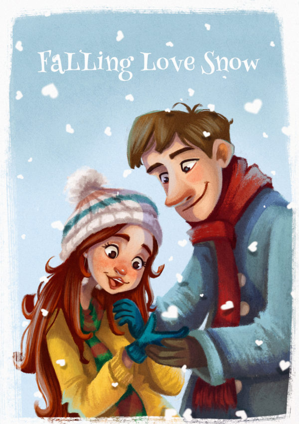 Fall ing Love Snow color