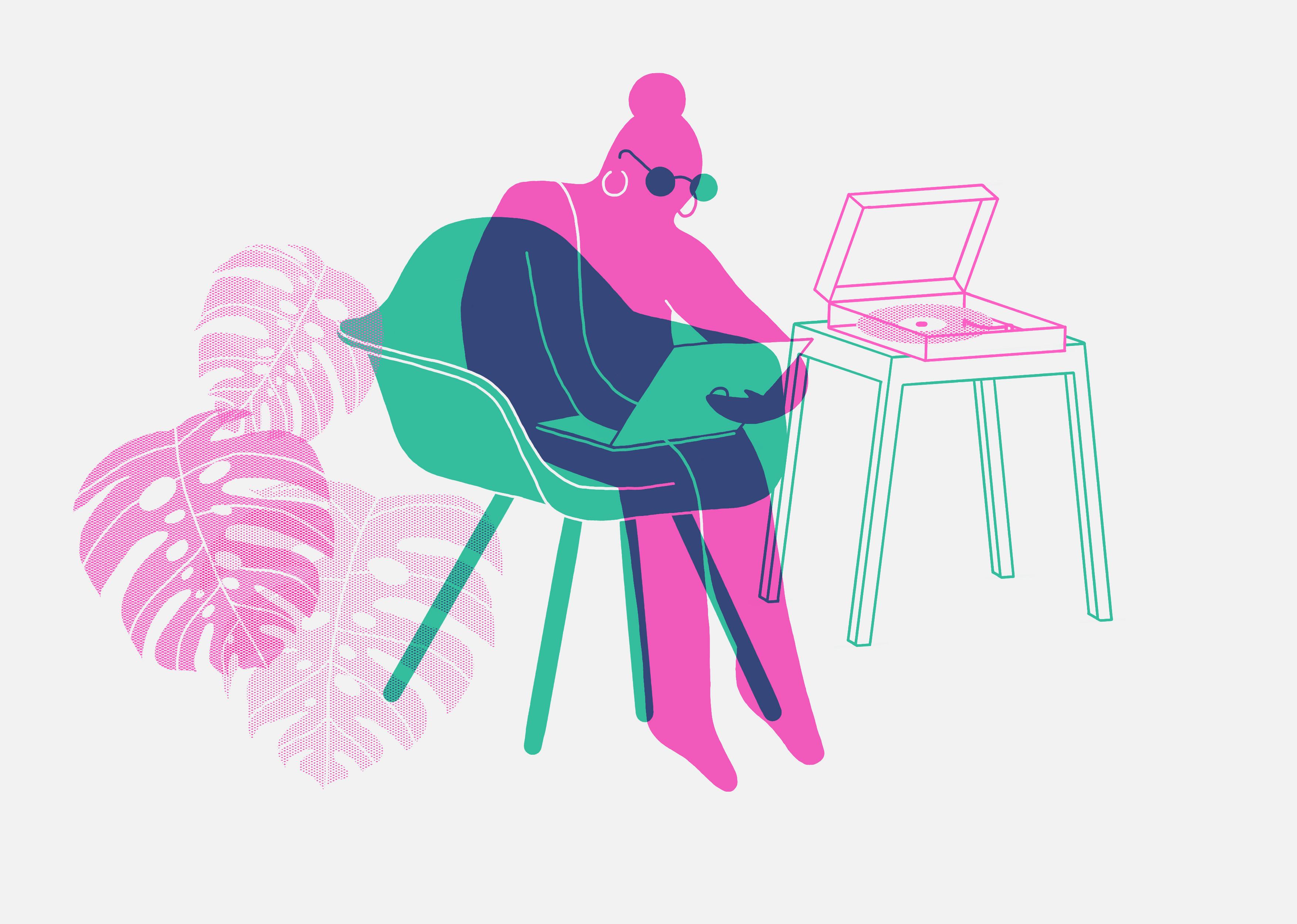 eames chair GREY