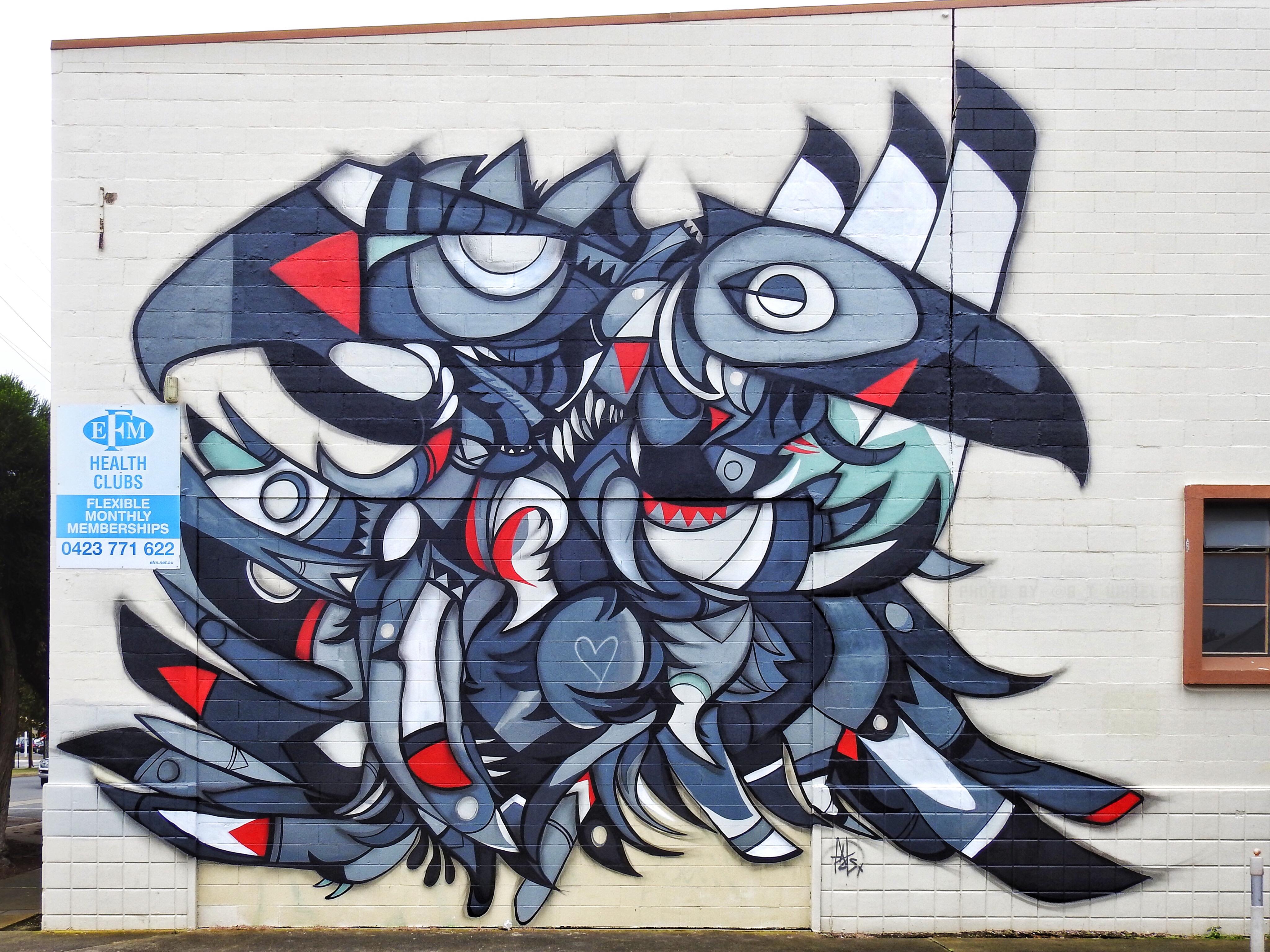 Wonderwalls 2017 Port Adelaide by FatsPatrol on Quebec Street