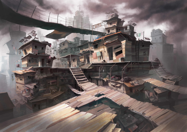 Modern slums