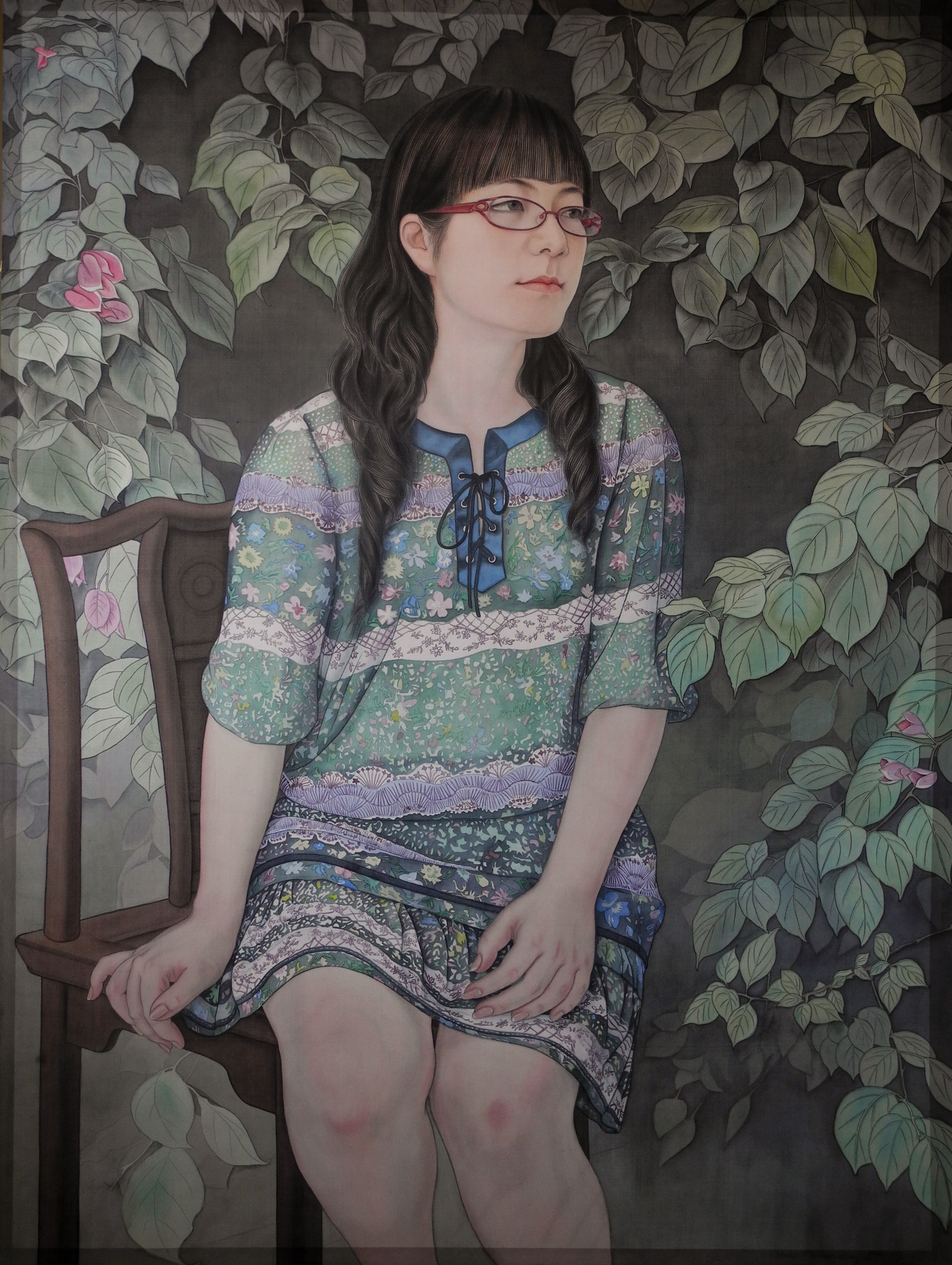 Chinese Painting_The Summer Days Series – GREEN 2014