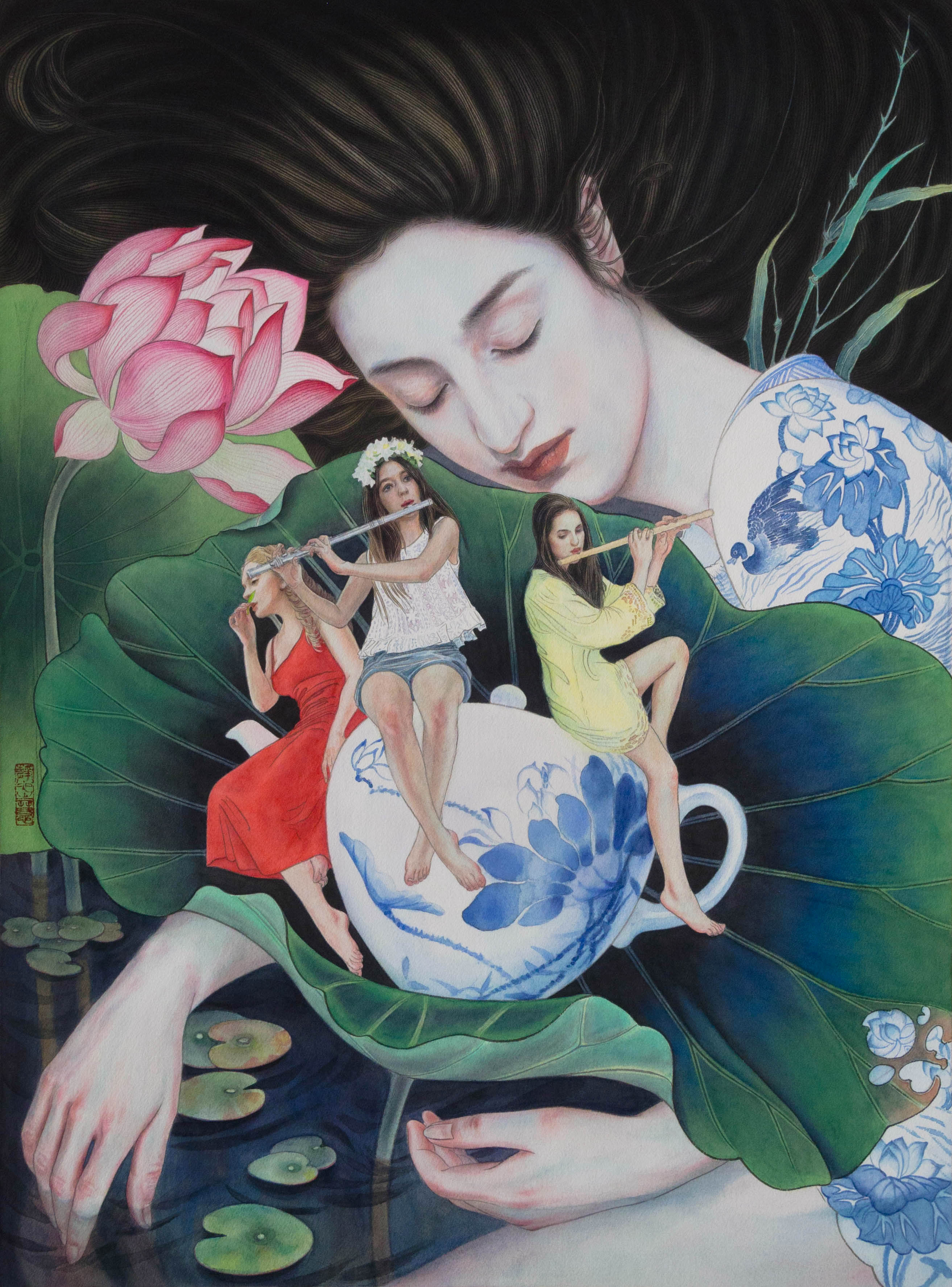 Chinese Painting_A Music Dream 2018-S