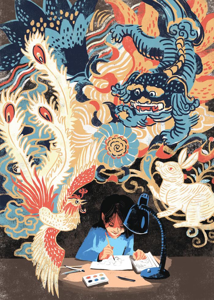 YunJinZhuangHua-drawing