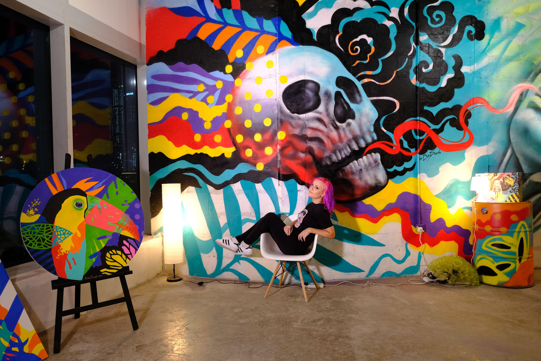 Dina Saadi old Studio