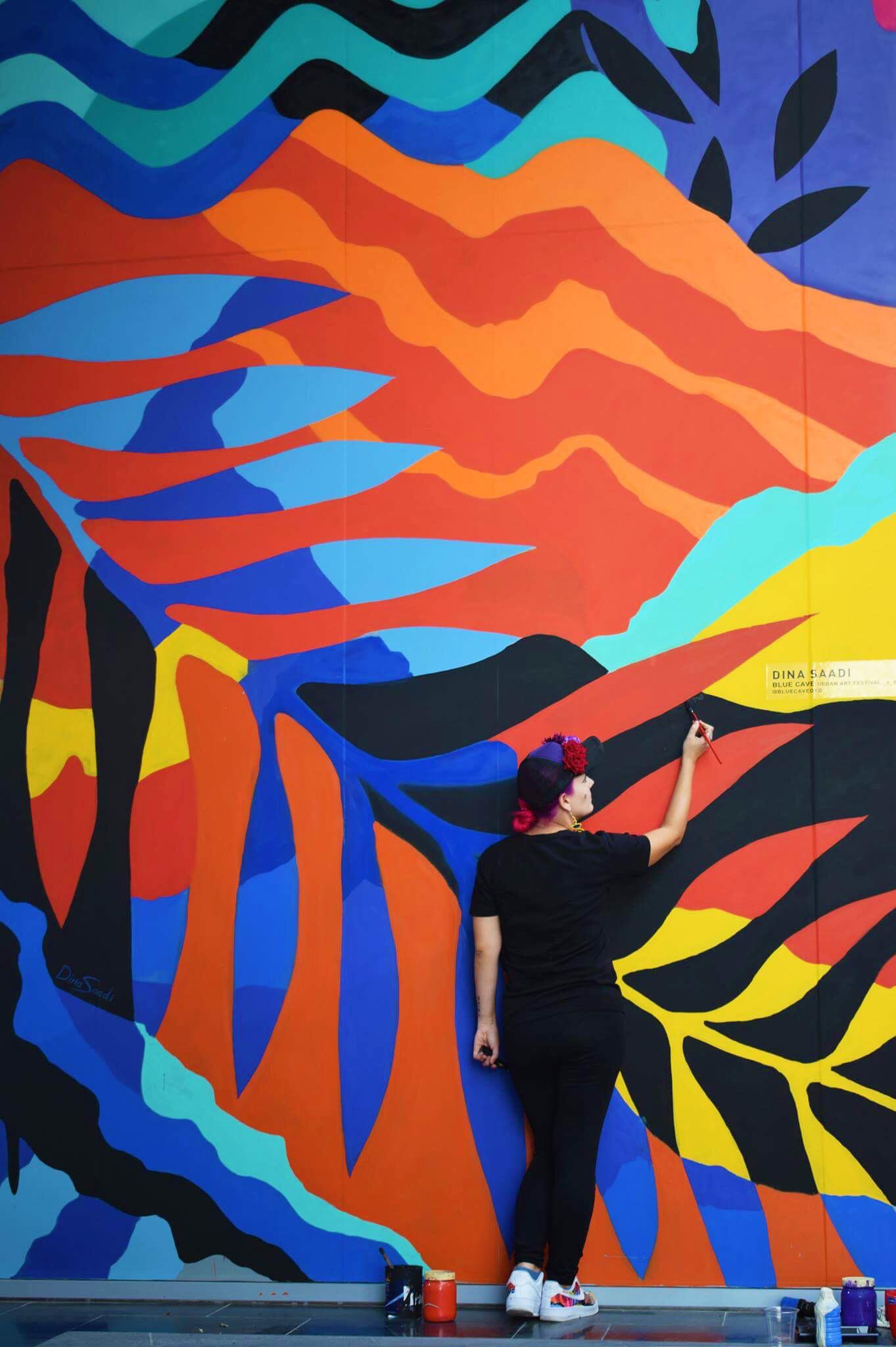 D3 Mural, Dubai-