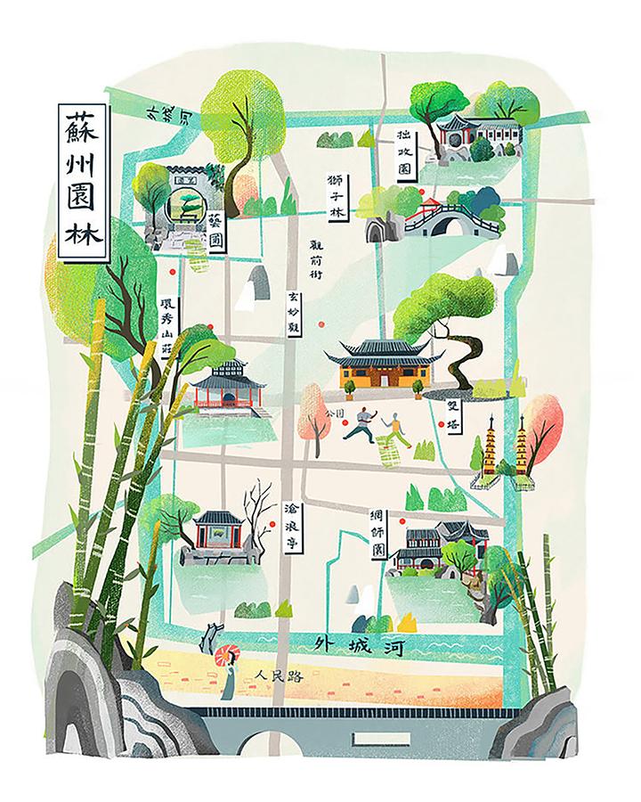 GirlsclubAsia-Illustrator-Li-Zhang-suzhougardens_web