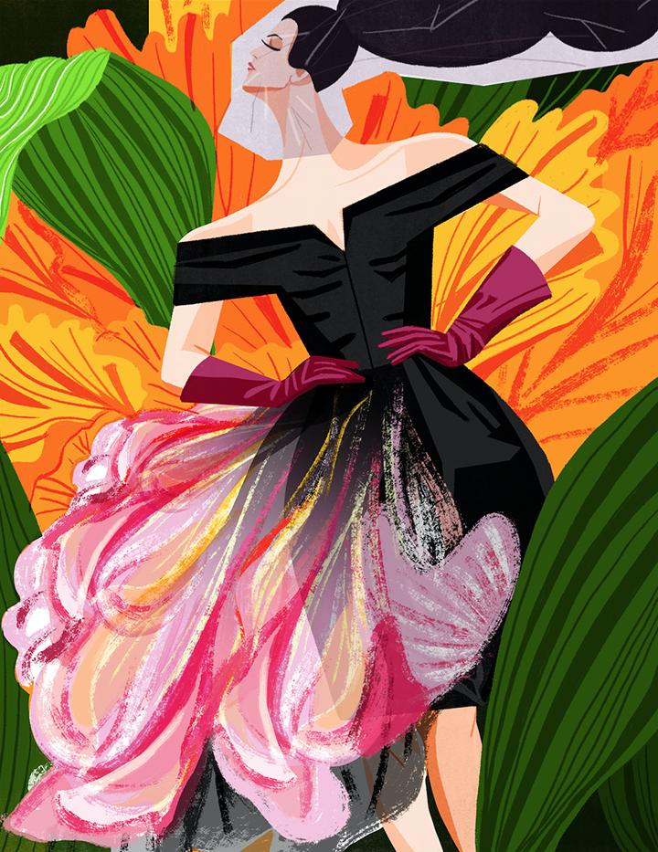 GirlsclubAsia-Illustrator-DecueWu-2_Dior couture 2010, 2016, digital
