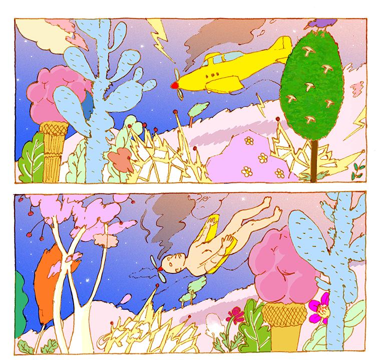 GirlsclubAsia-Artist-Ansso An-comic book cut