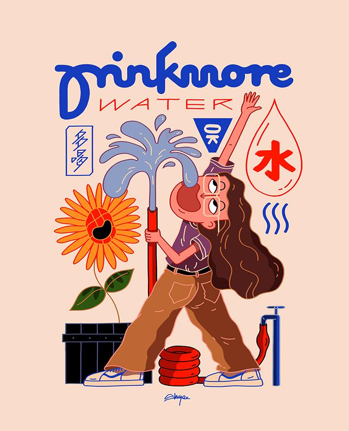 GirlsclubAsia-Artist-ShuYee-drink more waterrrrrr
