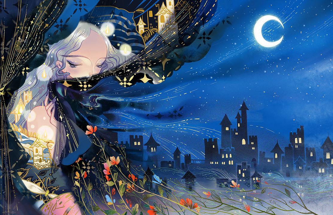 GirlsclubAsia-Artist-Kuri-Huang-Stray Birds_Beautiful Night