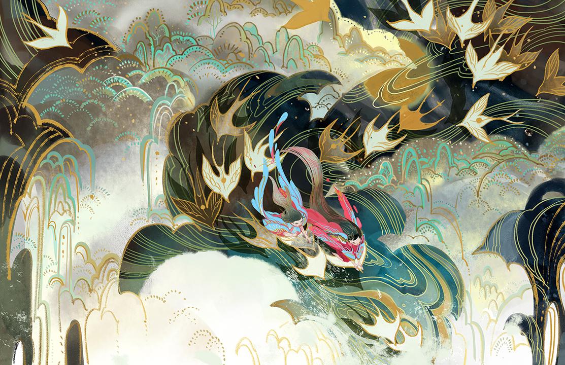 GirlsclubAsia-Artist-Kuri-Huang-Stray Birds_ Still Water_Kuri