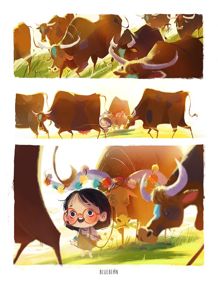 GirlsclubAsia-Artist-Bluebean-Cows_story_scene1
