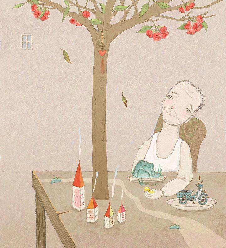 GirlsclubAsia-Artist-YiVonCheng-Grandpa