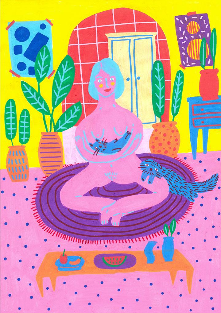 GirlsclubAsia-Artist-Hafi-kitties