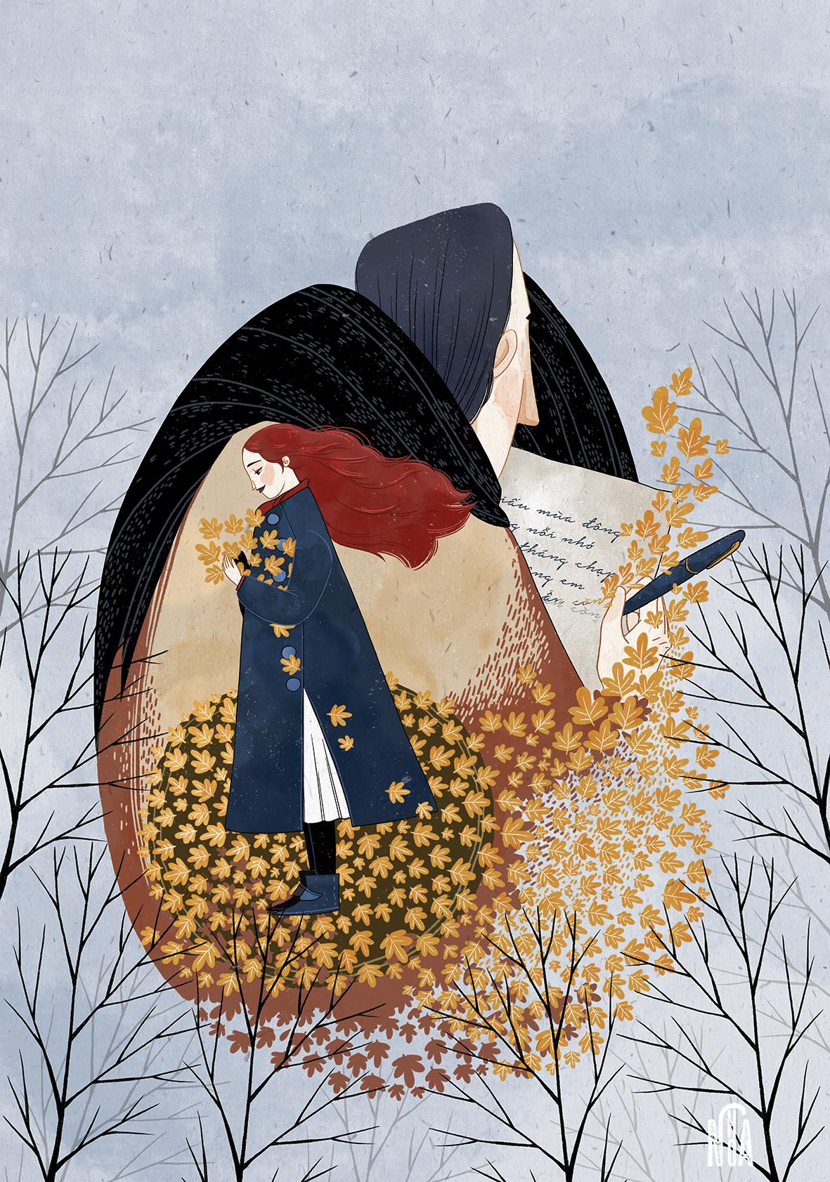 GirlsclubAsia-Artist-NohA-Vietnam-Illustration-huyền thoại mùa đông a Quang