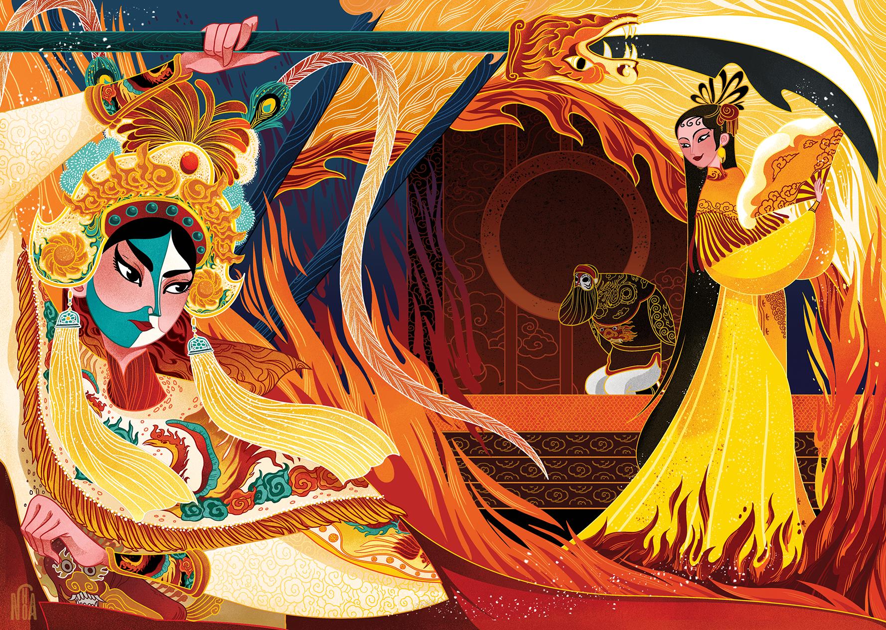 GirlsclubAsia-Artist-NohA-Vietnam-Illustration-Đào Tam Xuân