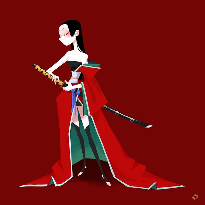 GirlsclubAsia-Artist-AmyNguyen-Vietnam-Illustration-Onnagata-(1)