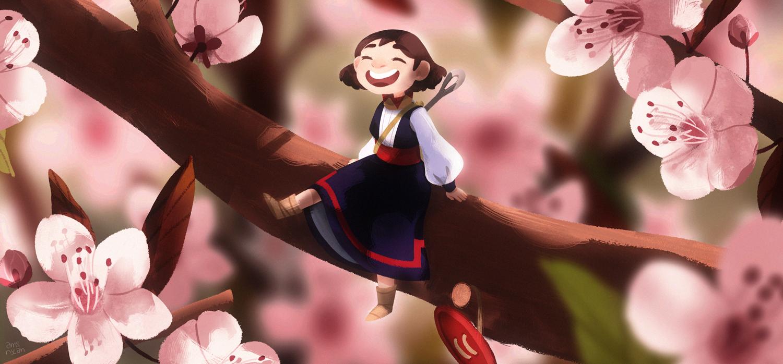 GirlsclubAsia-Artist-AmyNguyen-Vietnam-Illustration-On-the-sakura-treeS
