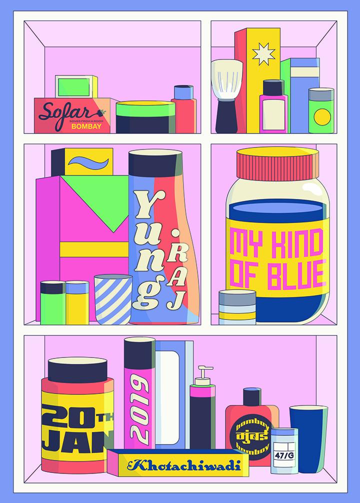 GirlsclubAsia-Artist-Mohini-Mukherjee-India-Print