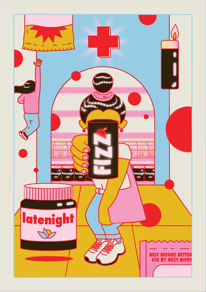 GirlsclubAsia-Artist-Mohini-Mukherjee-India-Appy Fizz