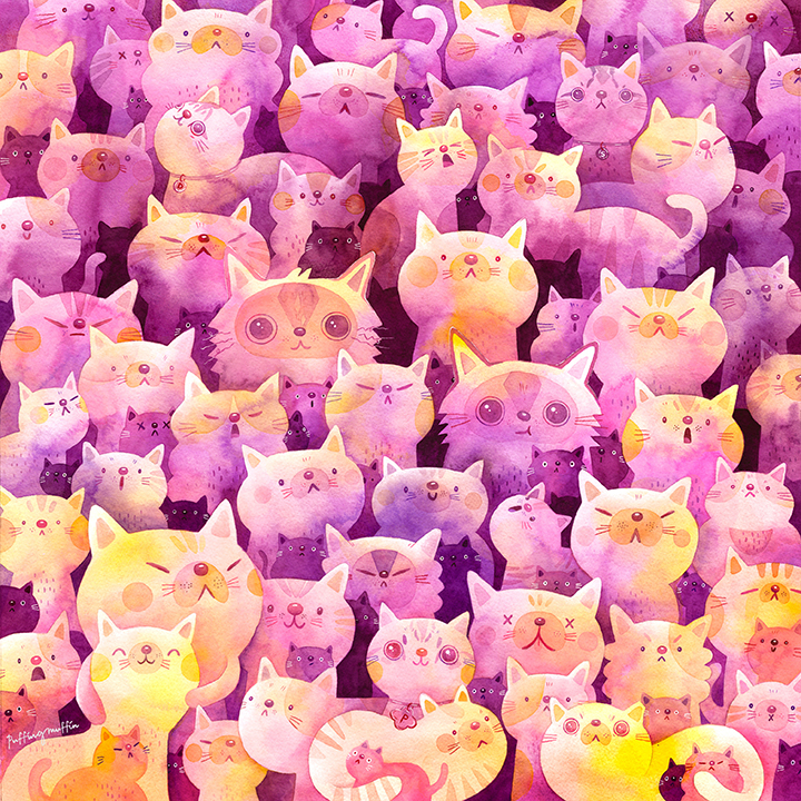 GirlsclubAsia-Artist-Candice-Phang-Singapore-Cats