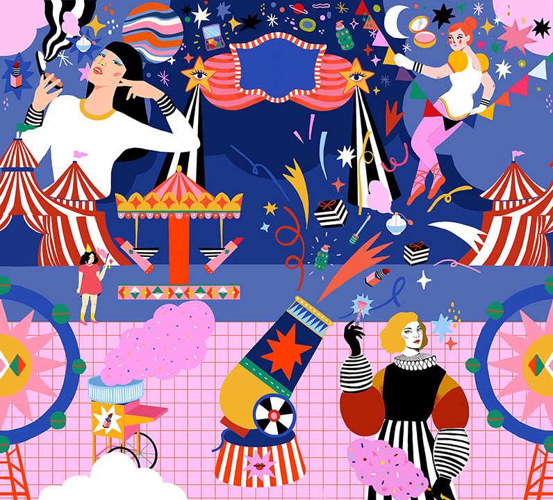 GirlsclubAsia-Artist-Diela-Maharanie-Indonesia-sephoraxdiela