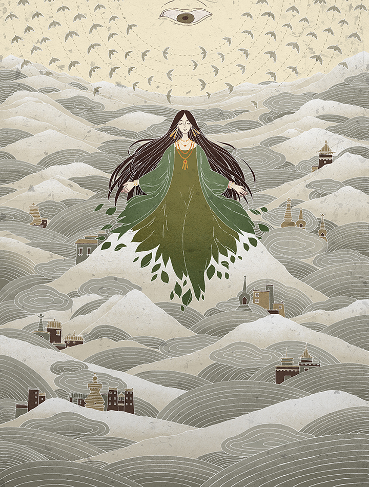GirlsclubAsia-Artist-Shirley-Gong-China-Poster for YunggieMa