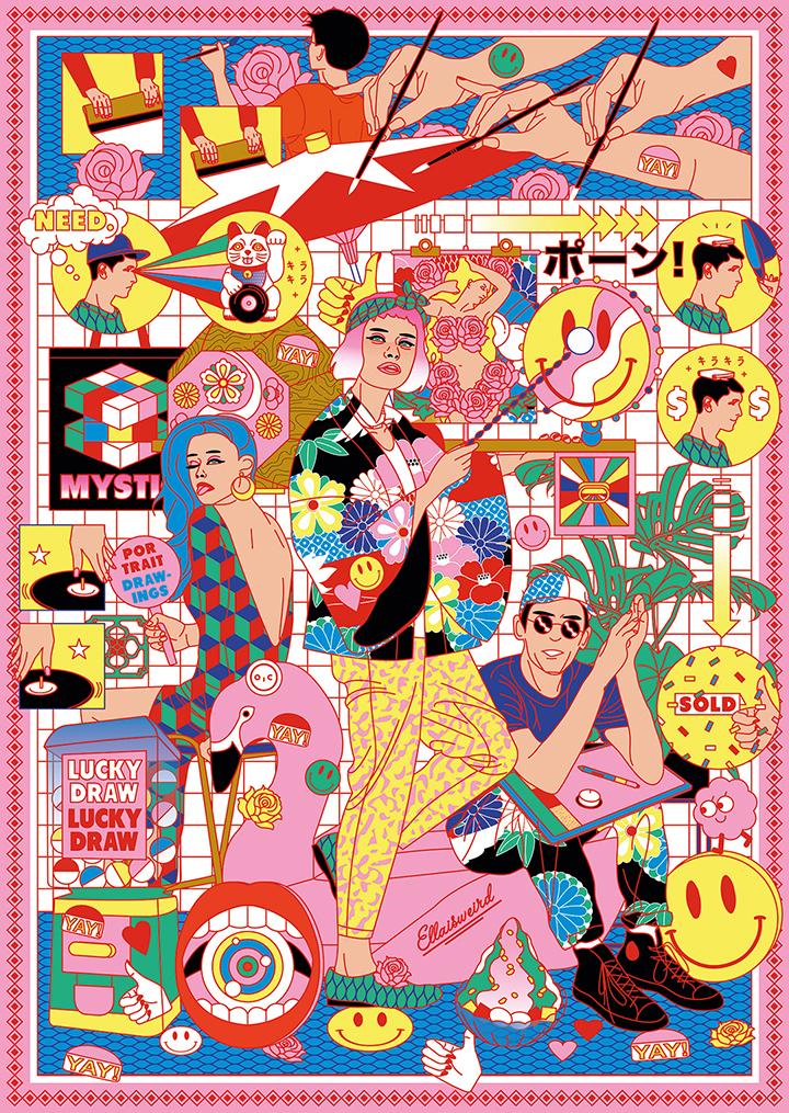 GirlsclubAsia-Artist-Ella-Zheng-Meisi-IAF_2018