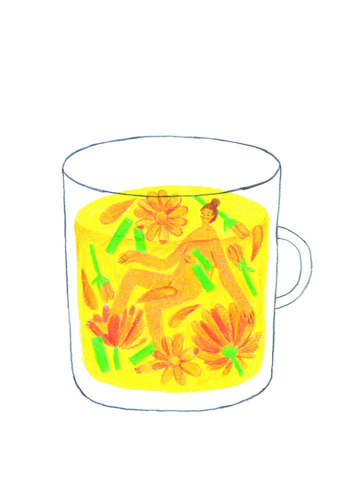 girlsclub-asia-jhawnette-art-chamomile tea