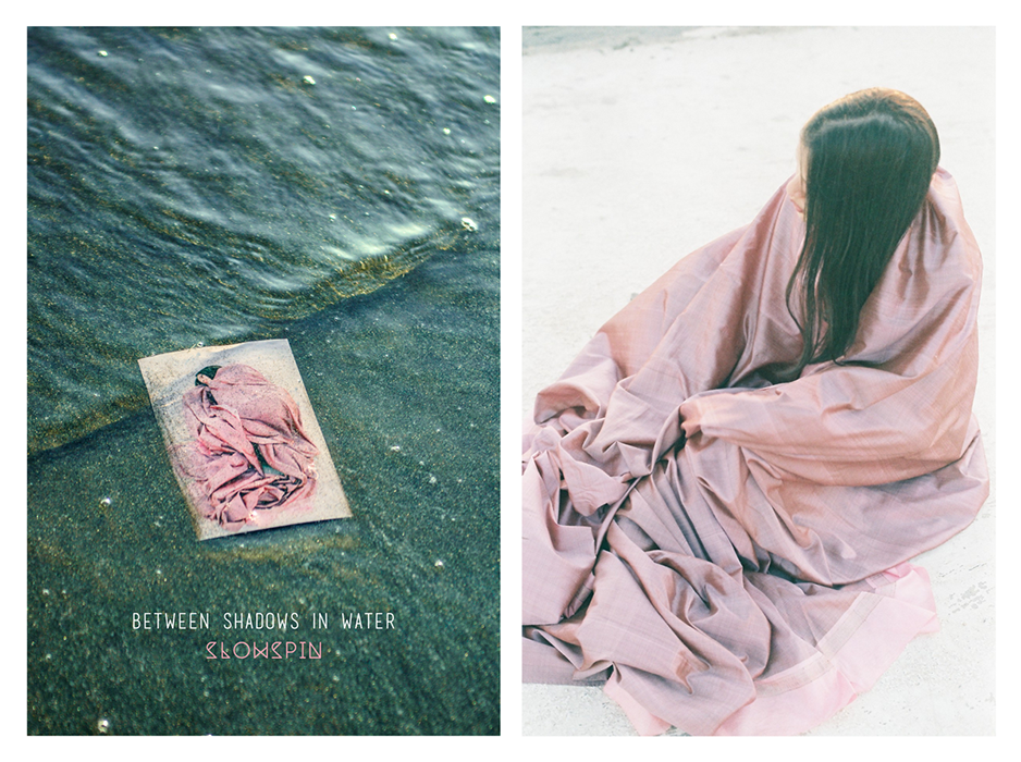 Girlsclub-Asia-music-Slowspin - Between Shadows in Water - album art by samya arif and humayun memon