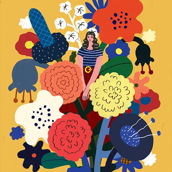 GirlsclubAsia-Artist-Hye-Jin-Chung-flowershopgirl_1000 copy