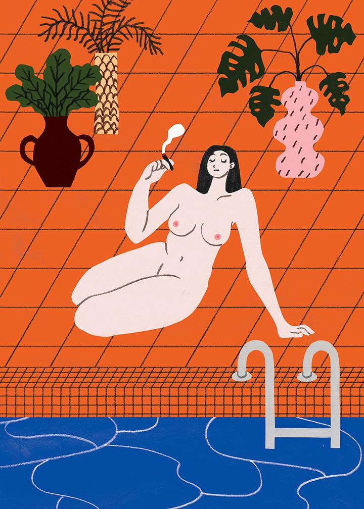 GirlsclubAsia-Artist-Hye-Jin-Chung-poolgirl