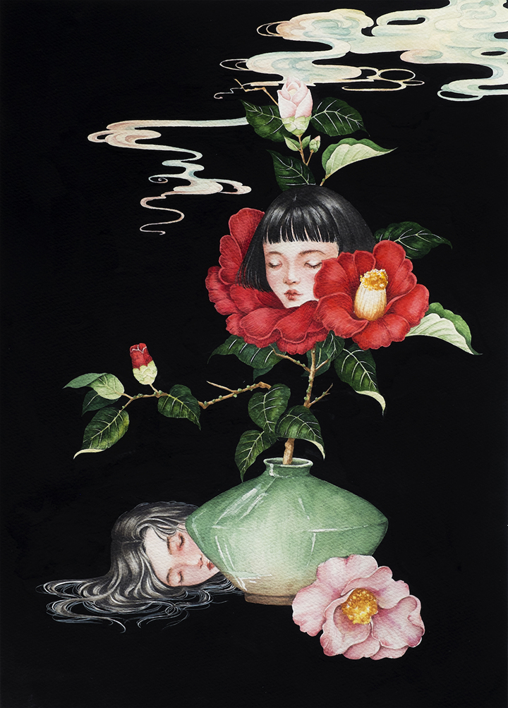 GirlsclubAsia-Artist-Phuong-Nguyen-Within the stillness