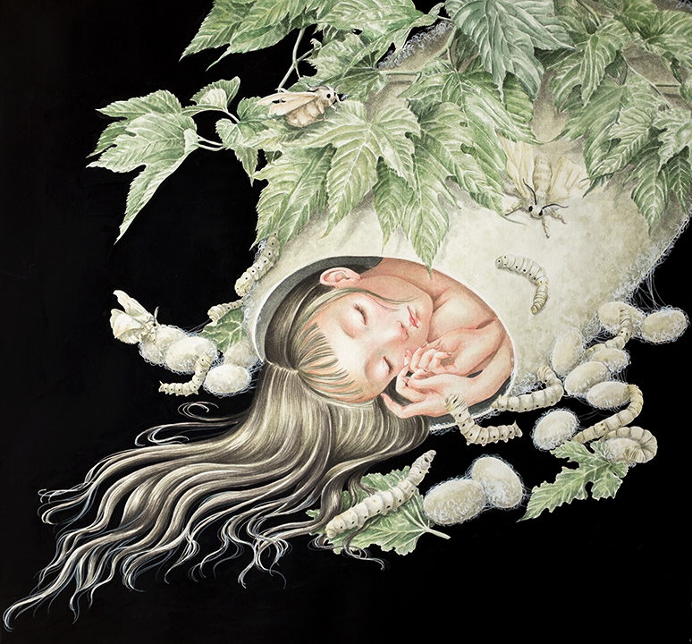 GirlsclubAsia-Artist-Phuong-Nguyen-A-moth's-dream