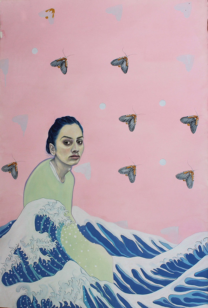 GirlsclubAsia-Artist-Noormah-Jamal-The Wave