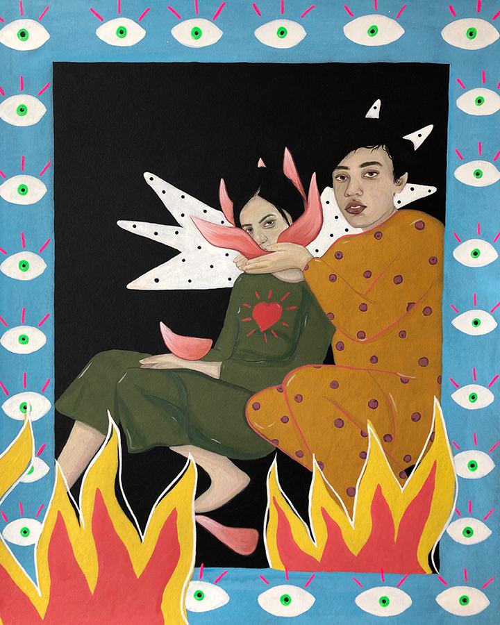 GirlsclubAsia-Artist-Noormah-Jamal-Painting