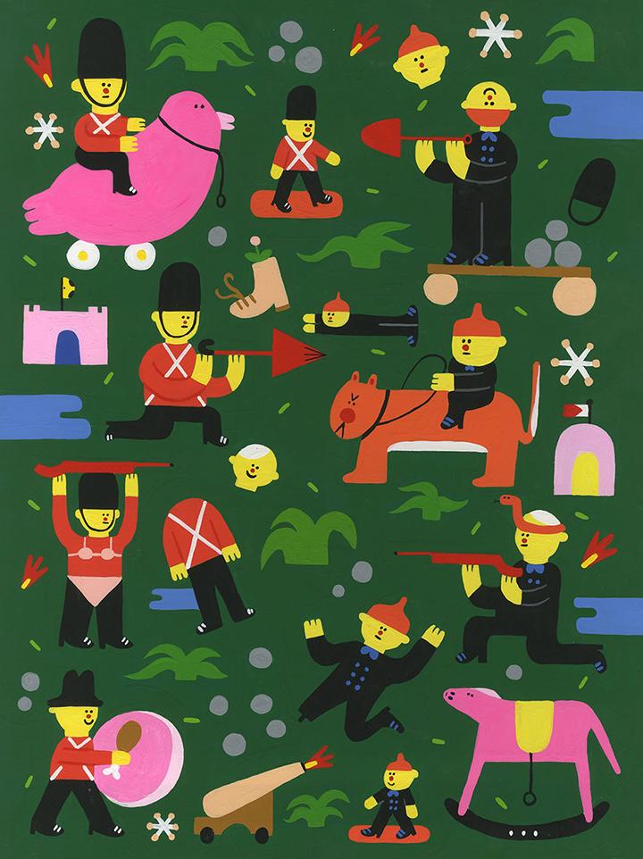 GirlsclubAsia-Artist-Camilla-Teodoro-Toy_Soldiers2