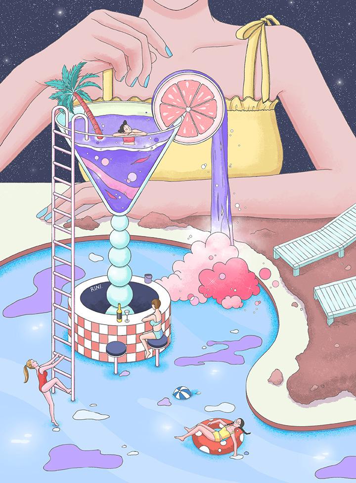 girlsclub-asia-rini-Summer paradise