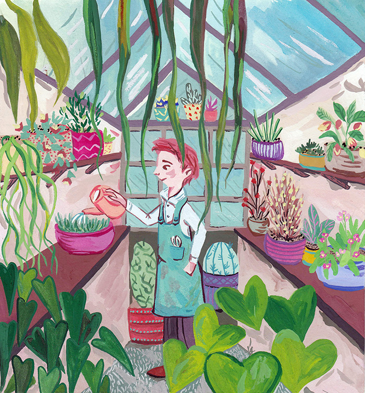 girlsclubasia-asma-enayeh-Plant House Gardner