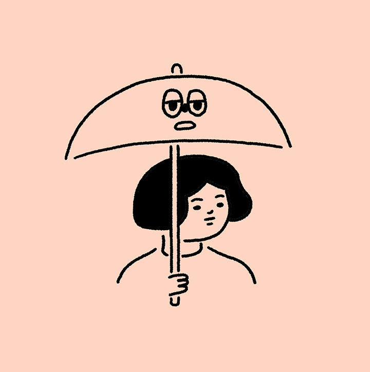girlsclubasia-michelle-sherrina-Umbrella