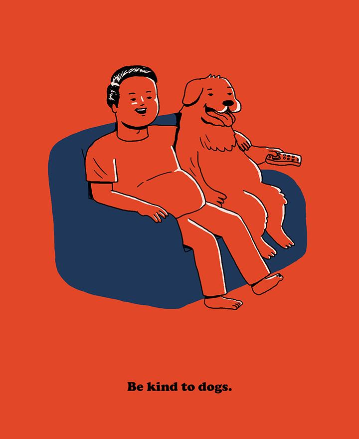 girlsclubasia-michelle-sherrina-Be kind to dogs