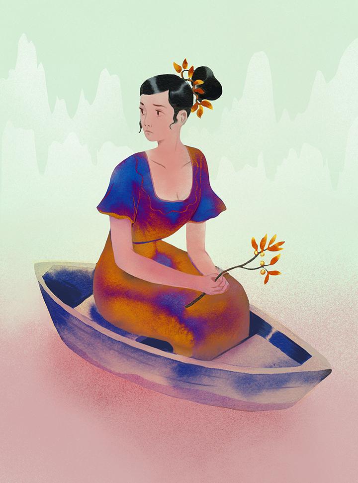 girlsclub-asia-Nicole Xu-boat