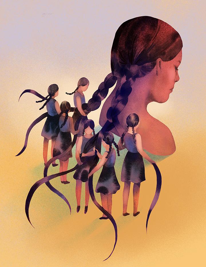 girlsclub-asia-Nicole Xu-braiding