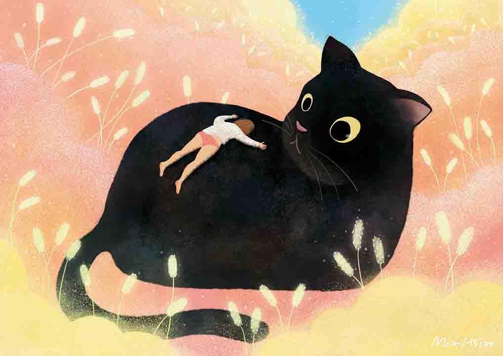 girlsclubasia-mia-hsiao-埋進貓咪的夢幻