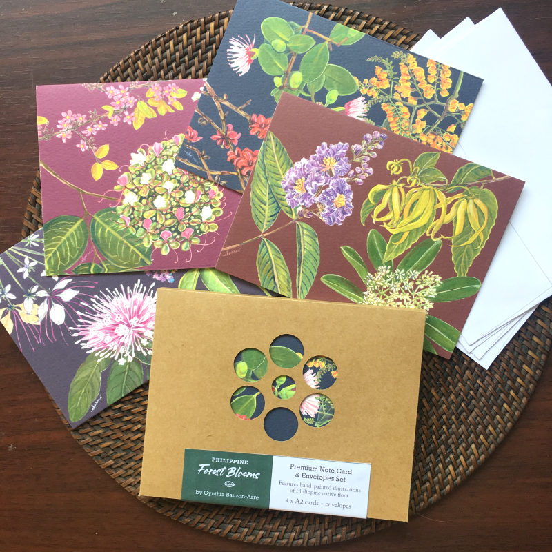Girlsclub-Asia-cynthia-bauzon-arre-Philippine-Forest-Blooms-cards