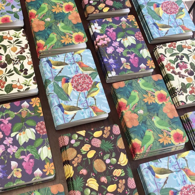 Girlsclub-Asia-cynthia-bauzon-arre-Phil-Flora-Fauna-Notebooks
