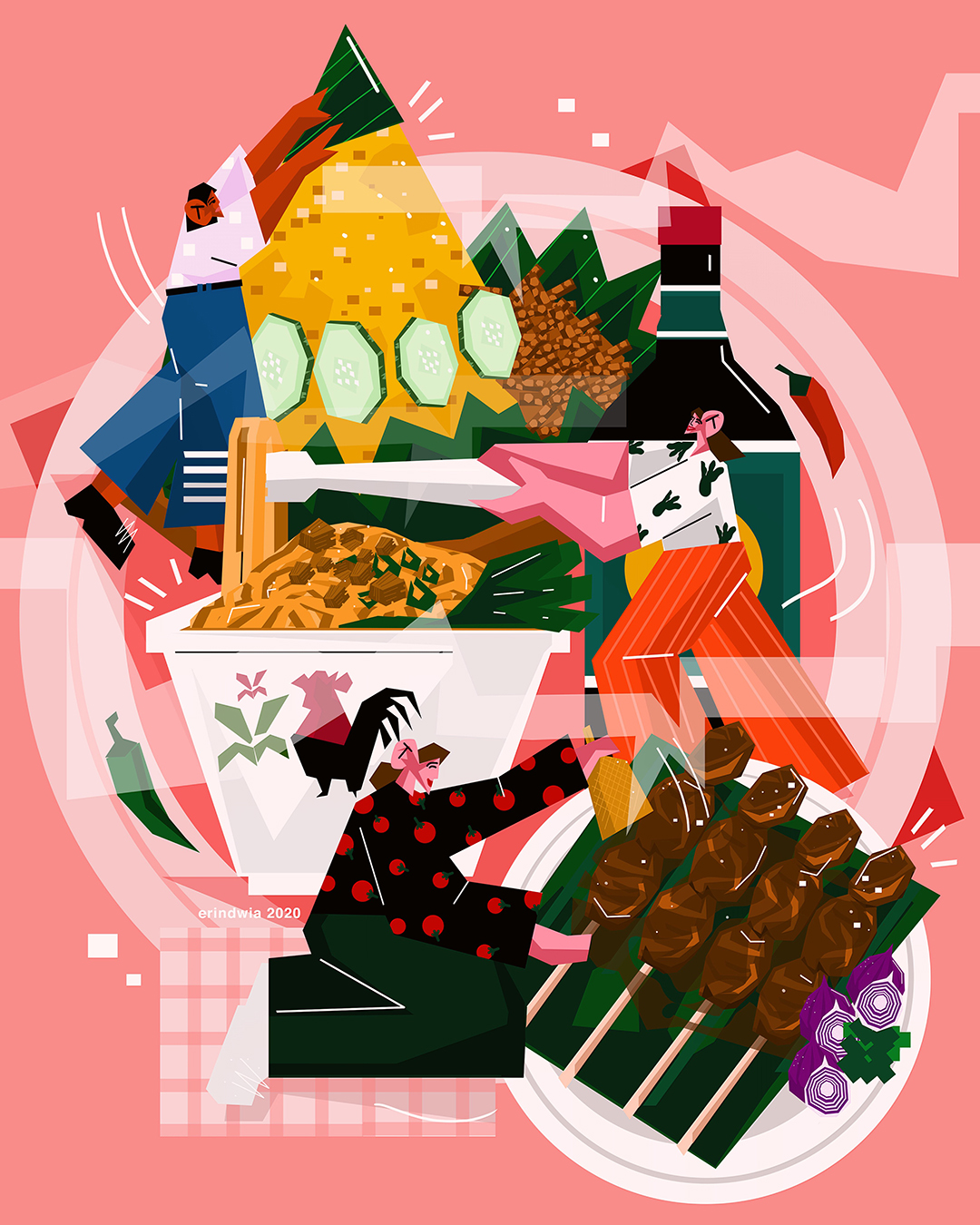 Girlsclub-Asia-Erin Dwi Azmi-indonesian food