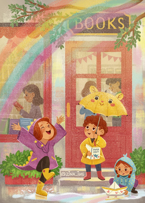 girlsclubasia-ZinaIugai-Bookshop_Spring