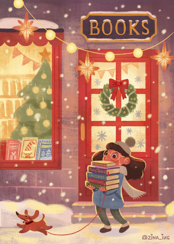 girlsclubasia-ZinaIugai-Bookshop_Winter