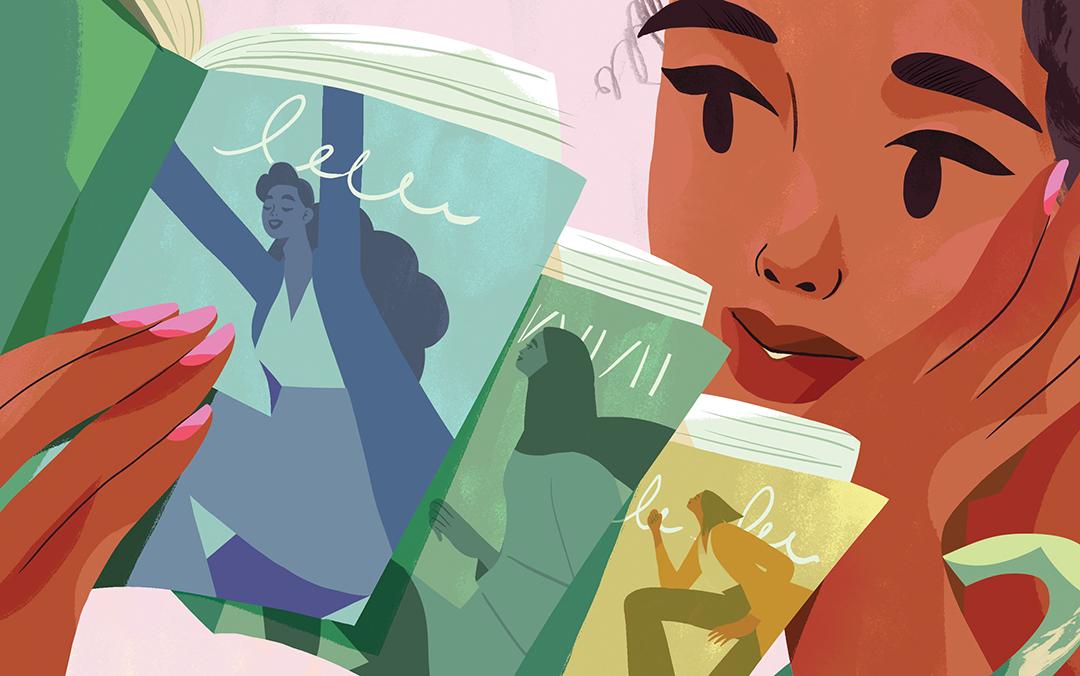 GirlsclubAsia-Artist-KimberlySalt-ThreeBooks